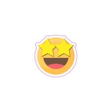 Small Star Eyes Emoji