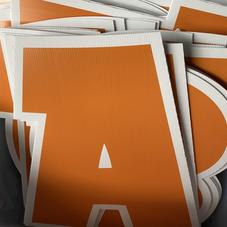 Orange Letters