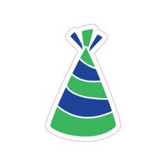 Blue/Green Hat