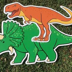 T-Rex & Triceratops