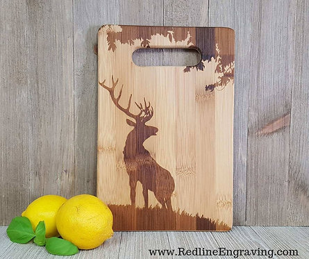 Elk - Bamboo Cutting Board
