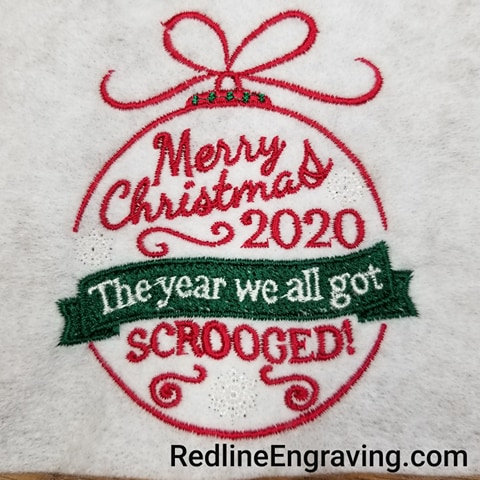 Merry Christmas 2020The year we all got SCROOGED