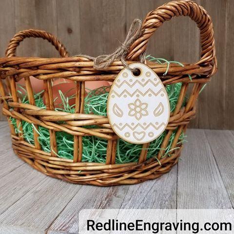 Easter Basket Tags- Easter Eggs
