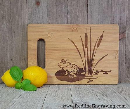 Frog Bamboo Cutting Board