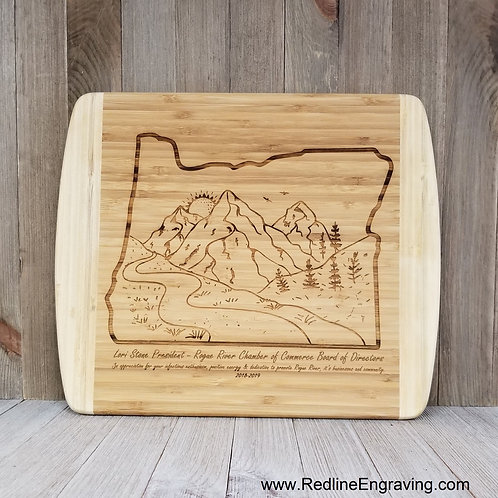 Oregon Large Cutting Board