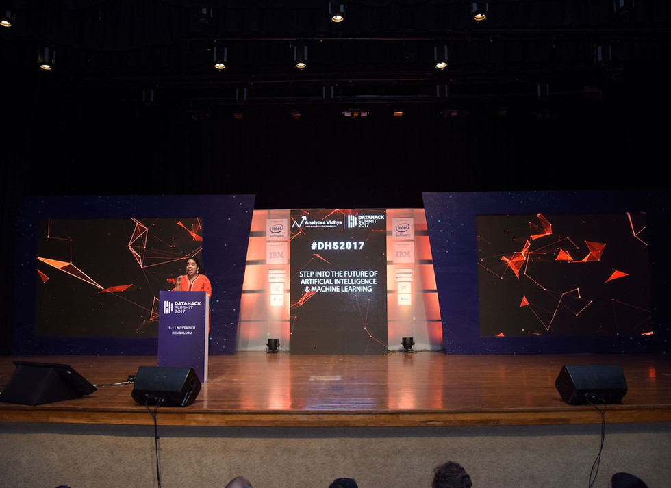Analytics Vidhya - DataHack Summit 2017
