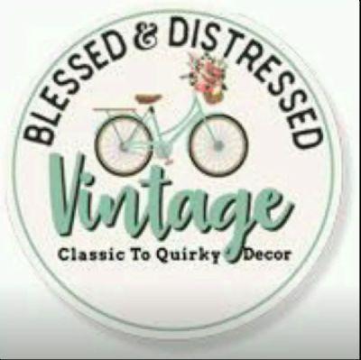 Blessed & Distressed Vintage