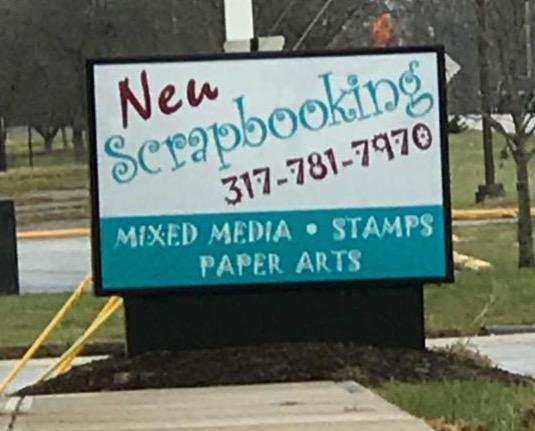 "The ""Neu"" Scrapbooking Store"