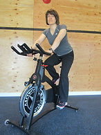 The Green Heron Personal Training, 2 spinning bikes to warm and do some cardio