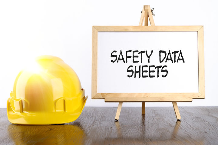 Safety%20helmet%20and%20white%20board%20with%20words%20Safety%20Data%20Sheets%2CHealth%20and%20Safet