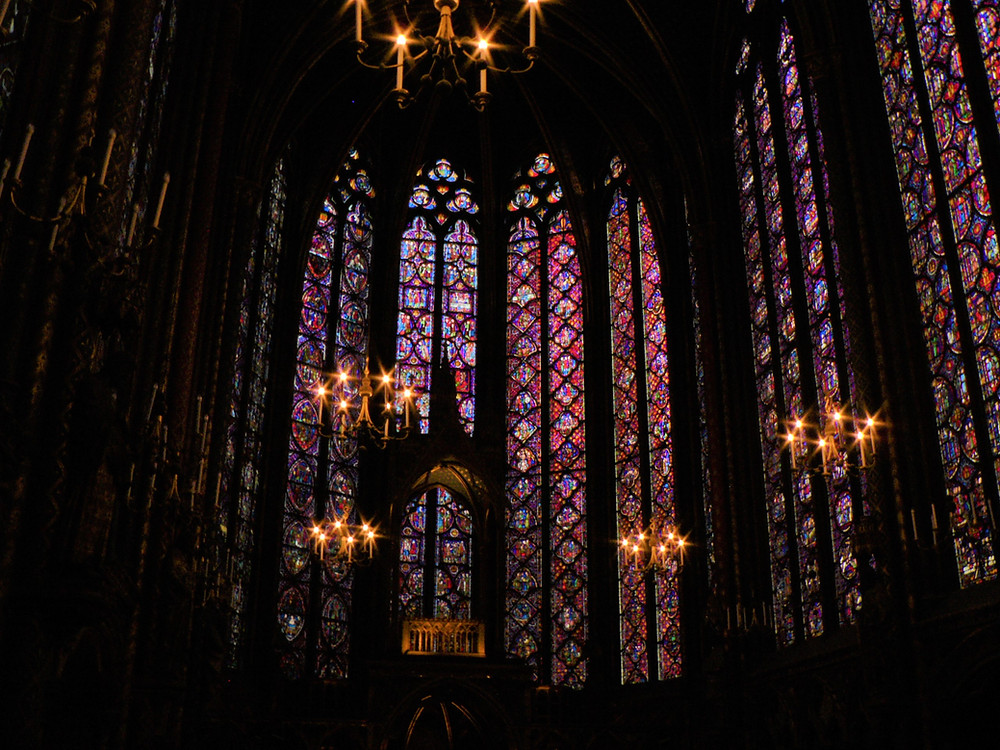 Windows of Notre Dame Cathedral