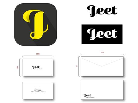 Jeet Mobile App Branding