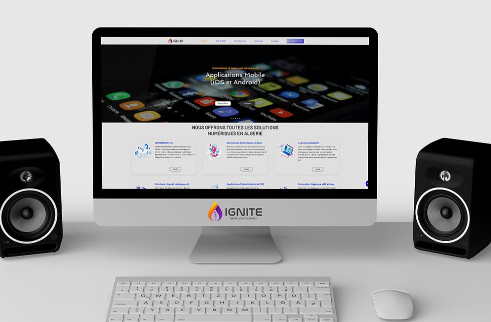 Ignite Algeria Website