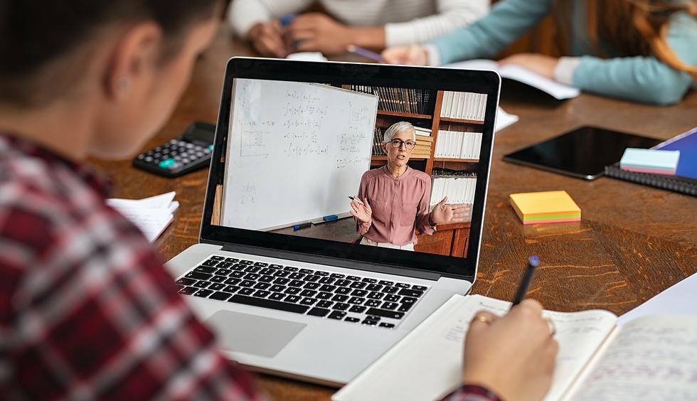 Website for online teaching