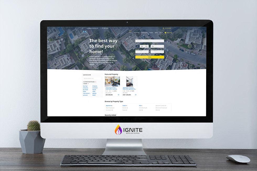 Classifieds web design