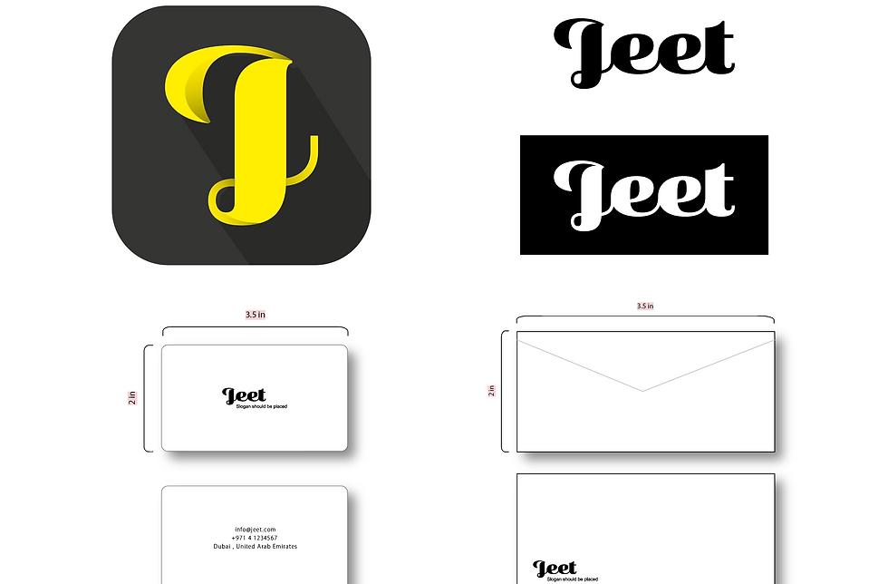 Jeet App Branding
