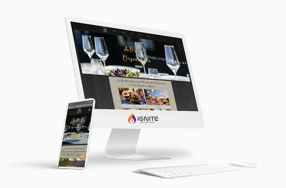 Catering and online ordering Website