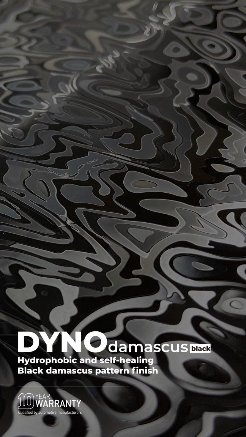 DYNOdamascus black