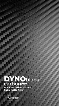 DYNOblack carbon-matte