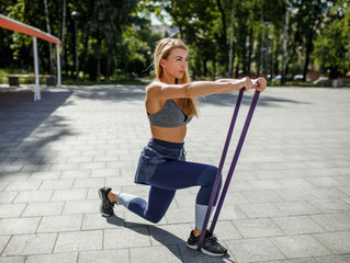Resistance Band Moves For Strong Legs