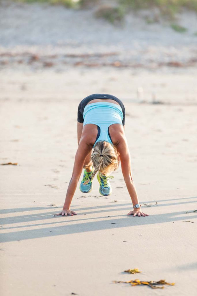 Santa Cruz beach boot camp workouts
