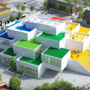 世界初のレゴハウス、グランドオープン!