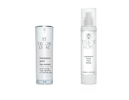 """LUMINANCE PEARL FACE SERUM  30ml retail, 100ml airless bottles  Luxurious anti-ageing serum with natural Pearl extract and selectedactives, suitable for all skin types. This unique beauty concentrate offersa youthful, even toned and radiant complexion, while fighting expressionlines, smoothing deep wrinkles, firming and refining the facialcontour.  Contains brightening and remineralising Pearl extract in mineral richOcean water, special mixture of an innovative brightening Oligopeptide,Vitamin C (ethyl ascorbic acid) and Niacinamide (Vitamin B3)that fights discolourations, advanced botanical complex that acts onthe 3 visible skin Chromophores (decreases redness and brown spotswhile improving collagen homogeneity, to reveal a youthful, even andbright complexion), """"wrinkle-filler"""" Oligopeptide (Matrixyl synthé6 -stimulates the synthesis of 6 major constituents of the skin matrix anddermal-epidermal junction, smoothing wrinkles and fine lines fromwithin), Matricaria"""