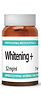 Whitening + (52 mg/ml concentration) 7ml vial  Active Serum with 5 whitening ingredients.  Biomimetic whitening Oligopeptide encapsulated in liposomes. It helps reduce melaninsynthesis by inhibiting the MITF, TRP-1, TRP-2 proteins and tyrosinase.  Special active (Hydroxyphenoxy propionic acid) that binds to existing melanin making itinactive.  Satsuma mandarin (Citrus Unshiu) extract that helps reduce melanin formation by inhibitingthe tyrosinase enzyme  Active mixture of Rabdosia rubescens & Siegesbeckia orientalis that operates against theskin chromophor groups. It protects Collagen from degradation (Collagen degradationmakes the epidermis thinner and allows discolourations to be more visible), reduces Melaninand Hemoglobin.  Stable form of Vitamin C (3-O-ethyl ascorbic acid) that reduces melanin production byaffecting tyrosinase and TRP2  Contains also high molecular weight Hyaluronic acid, Elastin, a moisturising Polysaccharide,Allantoin, Panthenol, Trehalose and Betaine.