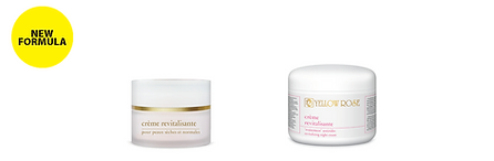 CREME REVITALISANTE  30ml, 50ml retail, 125ml, 250ml, 500ml jar  Anti-wrinkle, revitalising and highly moisturising, night cream for tired and mature skin. Ideal for treatment of the eye-contour and neck area. Helps to fight visible signs of ageing, such as wrinkles, lack of elasticity and tonicity. Suitable for professional facial massage.  Contains a patented bioactive complex (Farnesol and Panthenol derivatives) that promotes cell regeneration, smoothes wrinkles and improves skin elasticity, firming white Lupin extract with 4% Lupeol (natural 'Lifting-effect'), Wheat Placenta (nourishing), lipophilic esters of Salicylic acid (help skin pursue its normal cycle and have a calming and soothing effect), anti-wrinkle Phytosterols, Avocado oil, Vitamins (E and A), Wheat Germ oil (natural source of Vitamin E and essential fatty acids), Soy Lecithin (natural emollient, moisturises and improves skin texture), Olive oil and Lanolin.