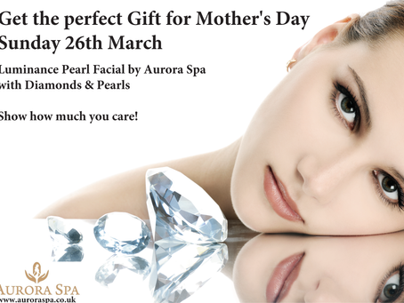 Treat your Mum this Mother's Day 26th March 2017