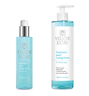 LUMINANCE PEARL TONING LOTION  200ml retail, 500ml bottles  This gentle skin lightening and soothing Pearl toner (alcohol-free) is designed to complete the cleansing process as the final refreshing, balancing and calming rinse for the skin.  Contains brightening and remineralising Pearl extract, Niacinamide (Vitamin B3 moisturises, stimulates natural Collagen biosynthesis and fights discolourations), Aloe Vera gel (moisturising, anti-inflammatory and skin repairing factor), Cucumber extract (refreshes, moisturises and relieves delicate and tired skin), soothing Glycyrrhetinic acid, moisturising Urea, Trimethylglycine (moisturising 'Betain' from  Sugar beets), Panthenol (pro-Vitamin B5) and Allantoin.