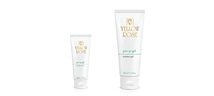 PRO-P-GEL  50ml retail, 125ml, 250ml plastic tube  Exfoliating gel for deep cleansing based on AHAs and Salicylic acid. Removes old lifeless surface cells so a refined new underlayer of skin can glow through. Exfoliates and clears pores as it boosts the skin's oxygenating ability, increasing its capacity for holding moisture, improving tone and texture, and restoring its natural healthy glow and radiance.  Contains Fruit acids (Glycolic and Lactic acid), Salicylic acid, Camphor, Magnesium Aluminium Silicate  (surfactant-free skin cleanser) and Allantoin.