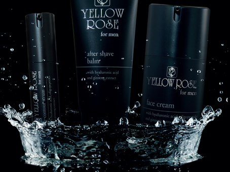New...Anti-Ageing skincare range for MEN by Yellow Rose
