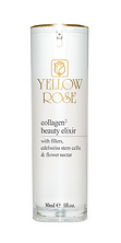 """COLLAGEN BEAUTY ELIXIR  30ml retail, 100ml airless bottles  Anti-wrinkle, moisturising and firming anti-ageing concentrate with natural fresh collagen, Collagen fillers, Edelweiss stem cells and flower nectar. Fights wrinkles, expression lines and loss of elasticity, leaving the skin firm with a youthful radiance. A unique rich blend of actives with soft and delicate texture, is an absolute delight for your skin. Suitable for all skin types. Dermatologically tested.  Contains natural soluble Collagen with 2 molecular weights for moisturisation, firmness and radiance, Collagen and Chondroitin fillers for immediate wrinkle plumping, firming and anti-wrinkle Edelweiss stem cells, antioxidant and moisturising flower Nectar, anti-wrinkle and firming Oligopeptides that stimulate the natural synthesis of Collagen and Elastin in fibroblasts (""""Retinol-like effect""""), Oligopeptides against expression lines (""""Botox-like effect""""), firming Tripeptide (Long-lasting """"firming effect"""")"""