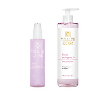 LOTION ASTRINGENTE (A)  200ml retail, 500ml bottles  Special astringent lotion for oily skin types. Cleanses, balances the level of sebaceous secretions and tightens the pores leaving the skin toned and refreshed. Lotion Astringente complements the action of cleansing milks. Contains Witch hazel distillate (natural refresher and gentle astringent, known for shrinking skin pores), Zinc sulphate (skin astringent) and Menthol (derived frompeppermint with cooling and refreshing properties).
