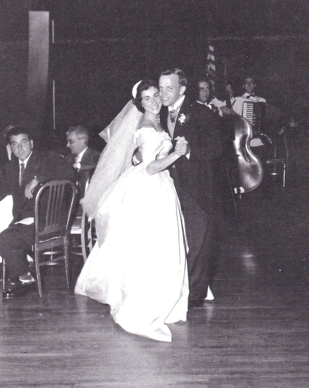Norma and Jay - Wedding 1954.jpg