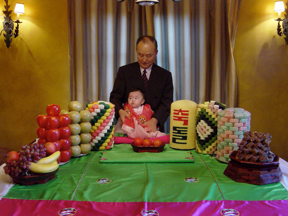 """Camille's 1st Birthday and """"Paebaek"""" Ceremony"""