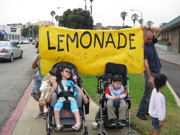 Lemonade Stand at CommuniCamp