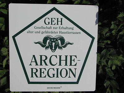 Sign GEH - Ark region