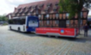 Der ELB-SHUTTLE unterstützt sie bei ihrer Radtour entlang der Elbe. Sie erreichen ihn mit der S-Bahn aus Hamburg. Der ideale Begleiter auf ihrer Radreise.