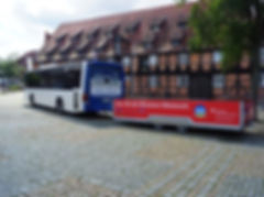 ELB-SHUTTLE am Marstall in Winsen