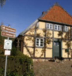 In Preten erfährt man vieles über die Störche, Landschaft, Natur an der Elbe