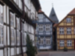 Half-timbered houses in Hitzacker