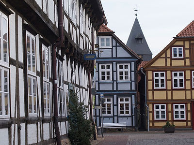 Half-timbered houses in Hitzacker