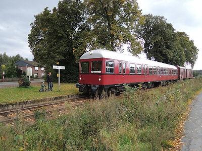 Heide-Elbe-Express/Bleckeder Light Railway in Neetze