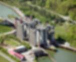 Radtour zum Schiffshebewerk Scharnebeck am Elbe-Seite-Kanal, Urlaub am Fluss Elbe mit einer Radtour zum Schiffshebewerk Scharnebeck.