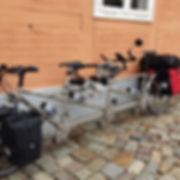 Mit dem Rahrrad, Tandem oder Triplet auf eine Radtour entlang der Elbe oder auf em Elberadweg,die Natur und Landschaft an der Elbe ist herlich natürlich.