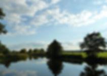 Baden in den Seen im Biosphärenreservat,in herlicherLandschaft die Natur beim Baden im Urlaub genissen
