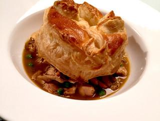 a 'stepped up' turkey pot pie