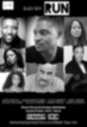 Black Boy Run Poster - Cast Announcement